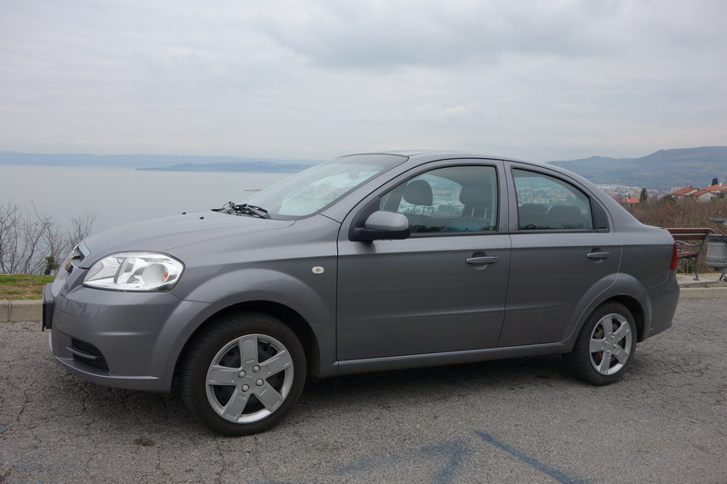 Chevrolet AVEO car rental in Slovenia