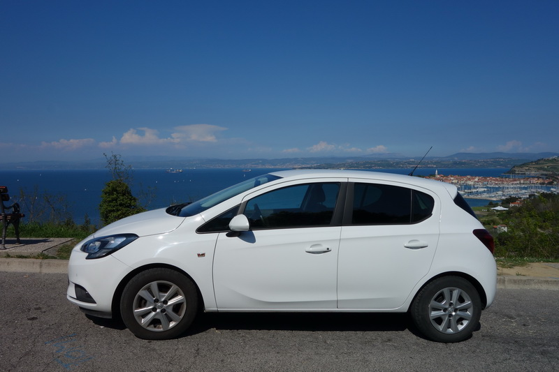Opel Corsa car rental in Slovenia