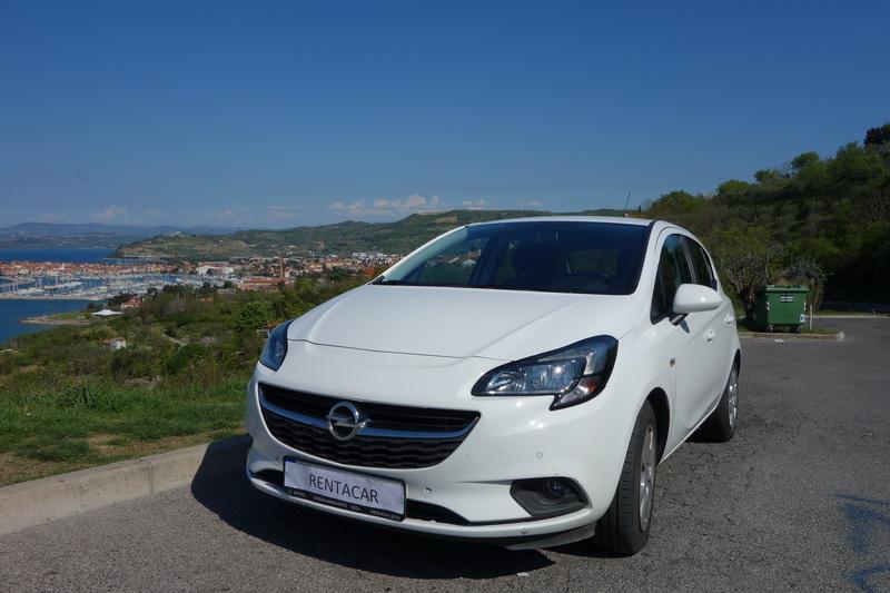 Opel Corsa car from RentacarSlo
