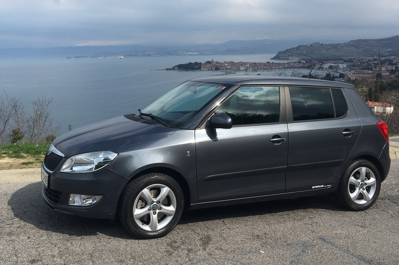 Skoda Fabia car rental in Slovenia