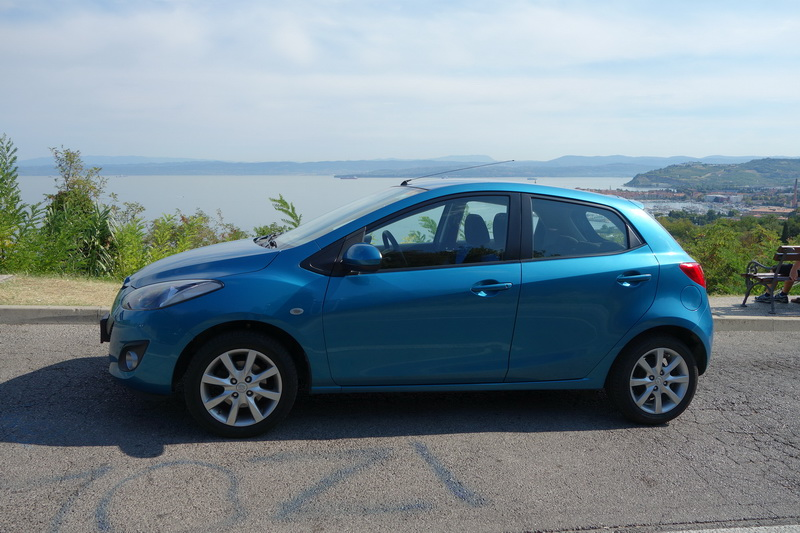 MAZDA 2 car rental in Slovenia