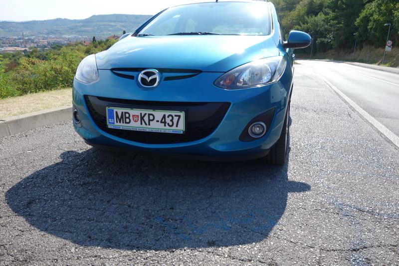 MAZDA 2 car from RentacarSlo