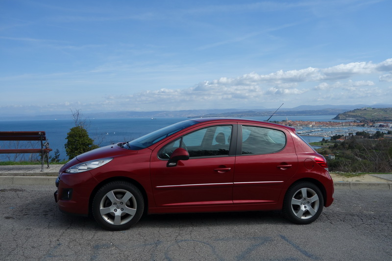 Peugeot 207 car rental in Slovenia
