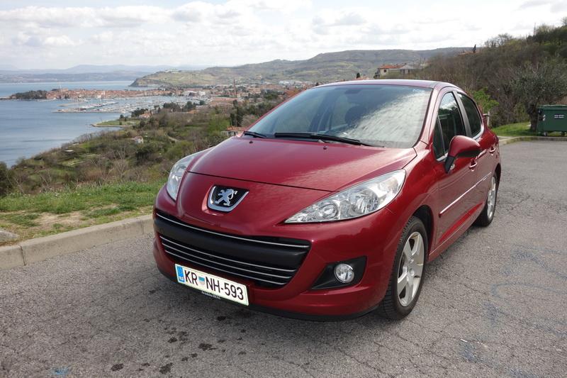 Peugeot 207 car from RentacarSlo