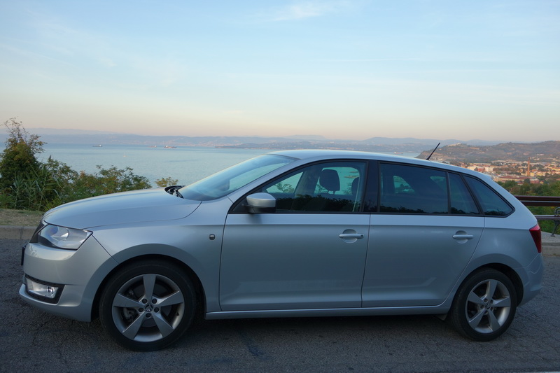 Skoda Rapid car rental in Slovenia