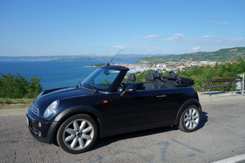 MINI COOPER car rental in Slovenia