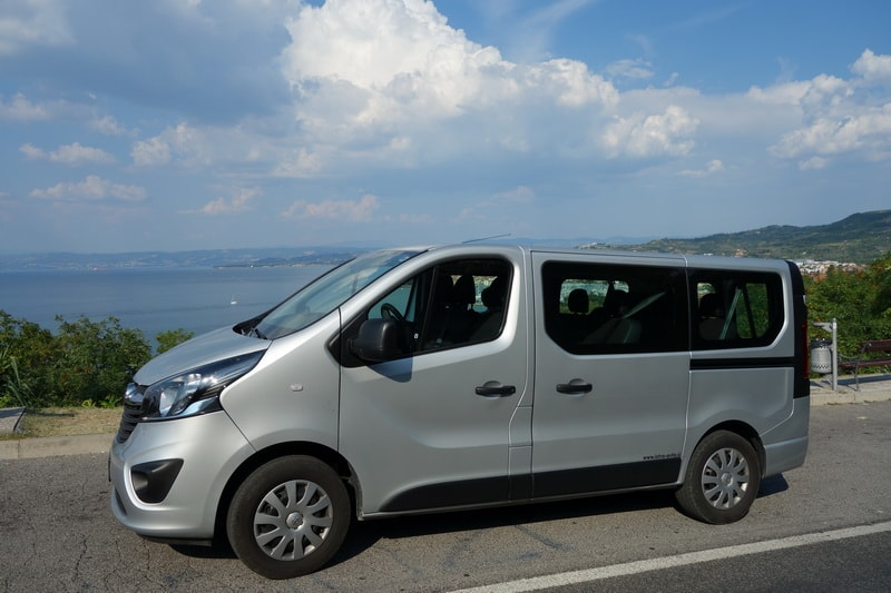 Opel Vivaro car rental in Slovenia