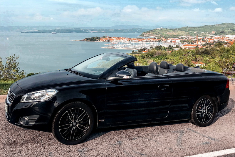 VOLVO C 70 Convertible car rental in Slovenia